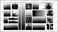 Go Media production Set12-reticulate pattern background