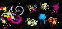 ink blot pattern