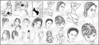 people style sketch material