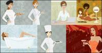 Women vector illustration