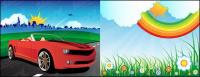 outdoor scenery vector