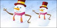 Snowman vector material