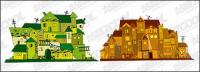 Vector illustration house material -2