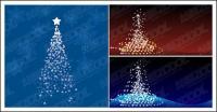 Flash Vector Christmas tree material