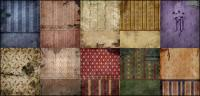 Continental dilapidated walls wallpaper picture material-2