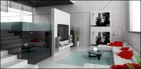 Beautiful home interior picture material-8