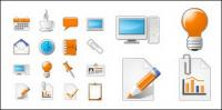 Web design icon vector material