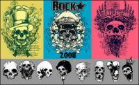 The trend of skull