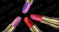 Vector lipstick texture material