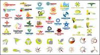 Variety of vector graphics logo material
