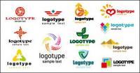 Beautiful graphics logo template vector material