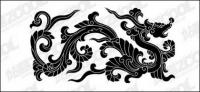 Chinese Classical Dragon Vector material