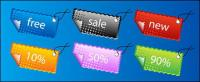 Vector material Tab sales angle