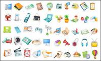 Useful items commonly used icon vector material