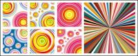 Vector background material in more than fashion