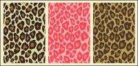 Multi-color leopard vector material