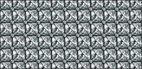 Vector diamond tile background material