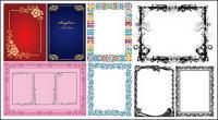 beautiful and practical material frame vector