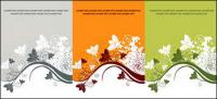 3-color pattern vector material fashion