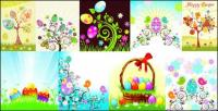 Easter Egg series vector material