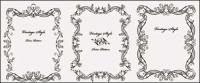 Practical beautiful lace Vector material