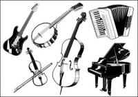 Music category vector material (2)
