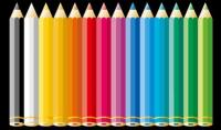 Color pencil Vector material