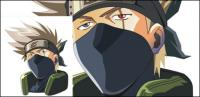 Vector flag wood Kakashi picture