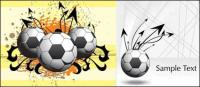 Football Theme King vector material