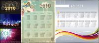 5 Vector 2010 Calendar