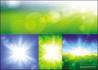 Bursts of light Vector