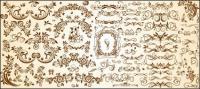 Very useful set of European pattern vector material