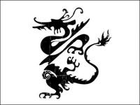 Vector of Chinese Classical Dragon