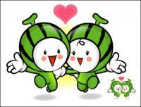 Love the cartoon super fruit Vector 3