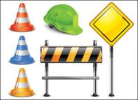 Vector signs roadblocks