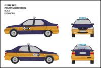 View original vector Jetta IV taxi