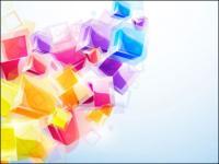 Dynamic three-dimensional effects brilliant 3D map 03