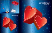 Romantic love gift Vector