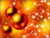 Beautiful Christmas ball vector-- 02