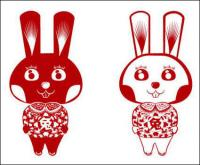 Rabbit Rabbit vector cutting