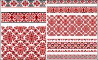 Beautiful costumes pattern 02 - Vector