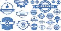 Badge labels 01 - Vector