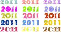 2011 digital vector material