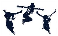 Classical figures dance vector