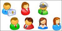 People in the user icon vector material
