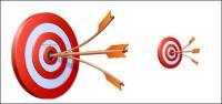 3D Style archery vector