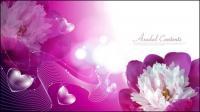 Vector flower material-2