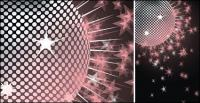 Dream Disco crystal ball Vector material