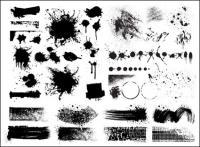 Inkjet effect vector material