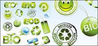 Environmental icon vector material
